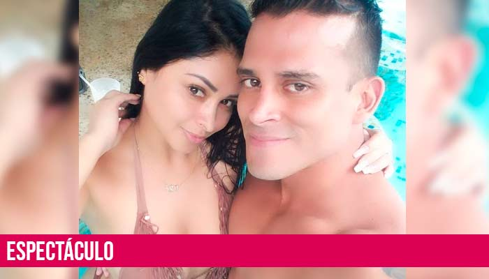 Christian Dominguez promete amor eterno a Pamela Franco | VIDEO